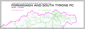 Parliamentary constituency raster mapping Image