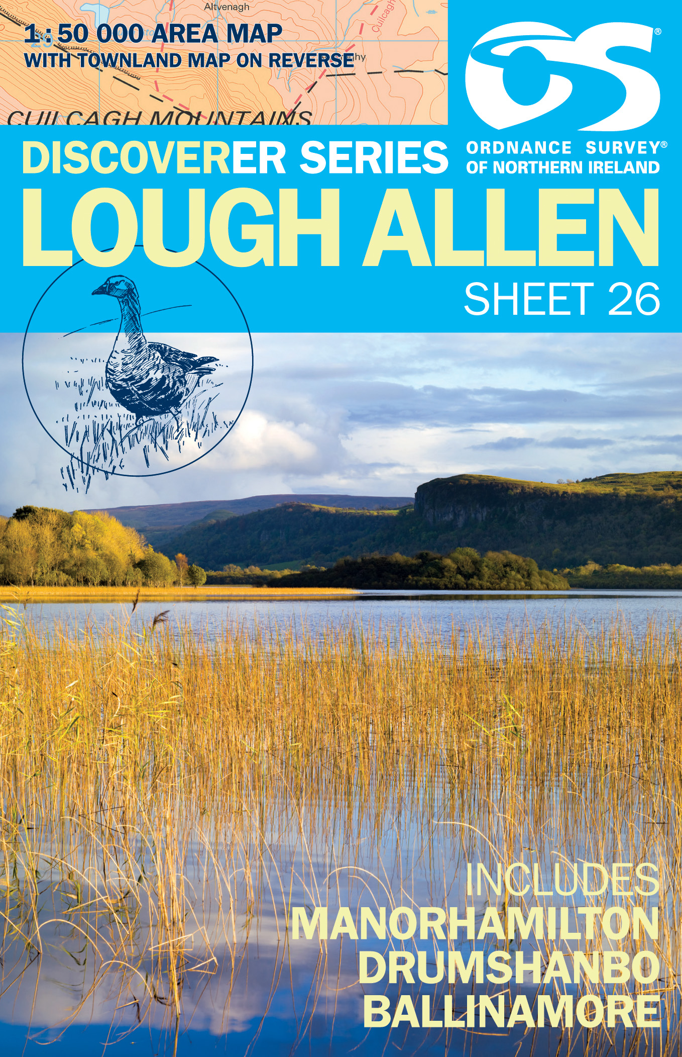 LOUGH ALLEN SHEET 26 DISCOVERER SERIES FOLDED  Thumbnail